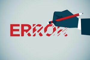 کاهش اشتباهات